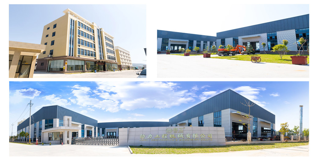 company photo of JingGong China excavator manufacturer