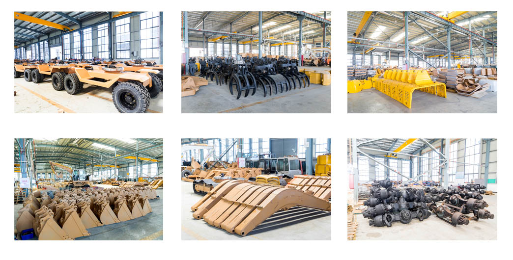 Workshop display of Jing Gong china excavator supplier